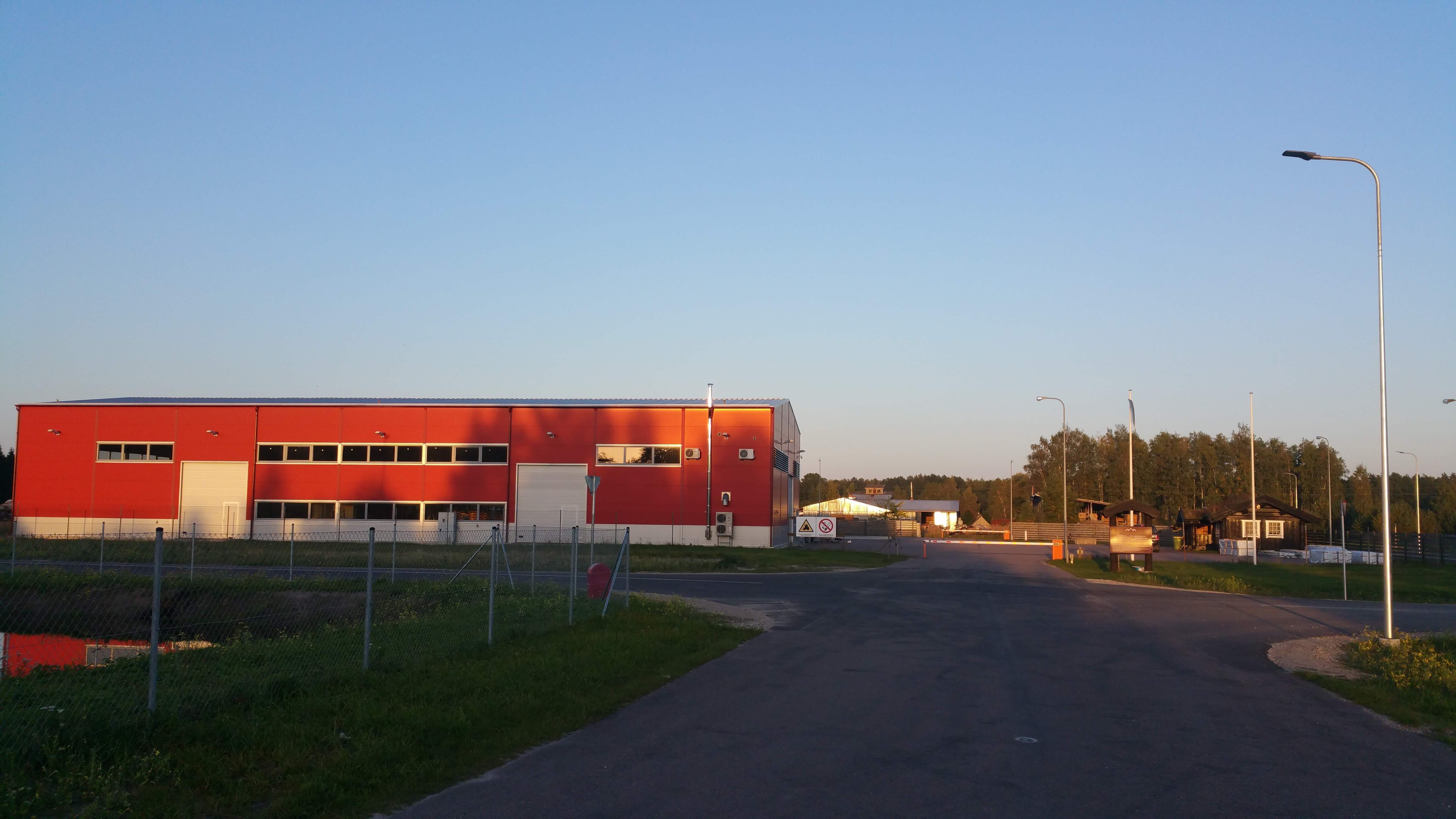 INDUSTRIAL PARK - Contemporary production building (warehouse)